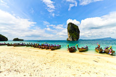 Krabi beach Royalty Free Stock Photos