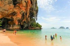 Krabi beach Stock Photos
