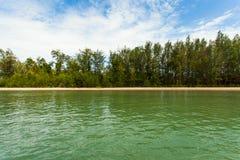 Krabi beach Stock Images