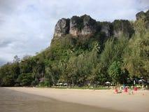 Krabi beach. Royalty Free Stock Image