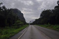 Krabi dans le nuage Photos stock
