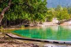 Krabi de construction de touristes en Thaïlande Photos libres de droits