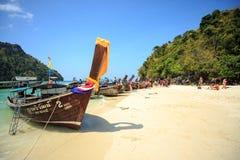 KRABI - 19 FÉVRIER ; 2016 : Voyage SAE de krabi ; La Thaïlande sur Febr Photographie stock libre de droits