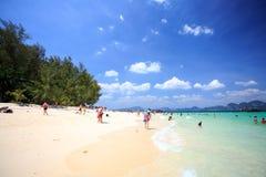 KRABI - 19 FEBBRAIO; 2016: Viaggio sae del krabi; La Tailandia su Febr Fotografie Stock Libere da Diritti