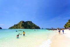 KRABI - 19 FEBBRAIO 2016: Viaggio sae del krabi, Tailandia su Febru Fotografie Stock