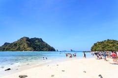 KRABI - 19 FEBBRAIO 2016: Viaggio sae del krabi, Tailandia su Febru Immagini Stock
