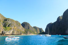 KRABI - 19. FEBRUAR 2016: Reise SAE von krabi, Thailand auf Febru Lizenzfreies Stockbild
