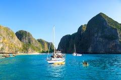 KRABI - 19. FEBRUAR 2016: Reise SAE von krabi, Thailand auf Febru Lizenzfreie Stockfotografie