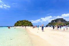 KRABI - 19. FEBRUAR 2016: Reise SAE von krabi, Thailand auf Febru Stockfotos