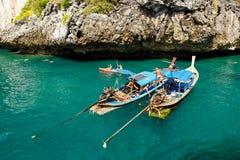 KRABI - 19. FEBRUAR 2016: Reise SAE von krabi, Thailand auf Febru Lizenzfreie Stockfotos