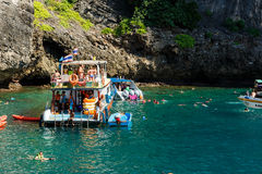 KRABI - 19. FEBRUAR 2016: Reise SAE von krabi, Thailand auf Febru Lizenzfreies Stockfoto