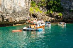 KRABI - 19. FEBRUAR 2016: Reise SAE von krabi, Thailand auf Febru Stockfotografie