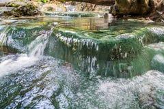 Krabi hot springs Stock Photo