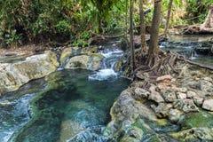 Krabi hot springs Stock Image