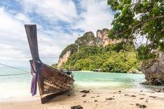 Krabi idylliskt landskap, Thailand Royaltyfri Fotografi