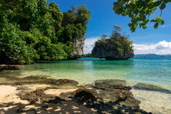 Krabi Island in Thailand Stock Images