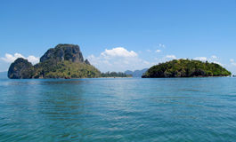 Krabi islands and sea, Thailand Royalty Free Stock Photo
