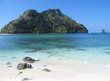 Krabi islands and sea, Thailand Stock Image