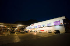 Krabi, 9 July 2014: Makro Cash and Carry shop building and parki Royalty Free Stock Photography