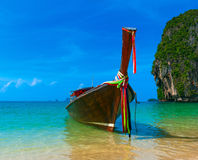 Krabi long tail boat Stock Image