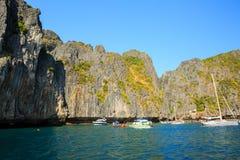 KRABI - LUTY 19 2016: Podróżuje sae krabi, Tajlandia na Febru Obrazy Stock