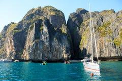 KRABI - LUTY 19 2016: Podróżuje sae krabi, Tajlandia na Febru Zdjęcia Stock