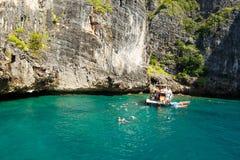 KRABI - LUTY 19 2016: Podróżuje sae krabi, Tajlandia na Febru Fotografia Stock