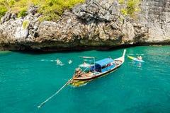KRABI - LUTY 19 2016: Podróżuje sae krabi, Tajlandia na Febru Zdjęcie Stock