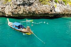 KRABI - LUTY 19 2016: Podróżuje sae krabi, Tajlandia na Febru Obraz Royalty Free