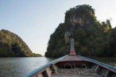 Krabi mangrovar, Thailand Royaltyfri Foto