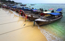 Krabi phi phi island Royalty Free Stock Images