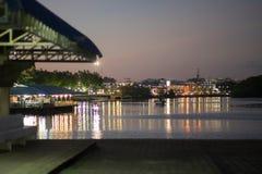 Krabi-Pier 2 Lizenzfreie Stockfotografie