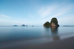 Krabi plaża w Tajlandia Zdjęcie Royalty Free