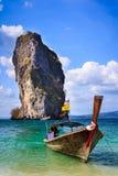Krabi quattro isole durante il giro in barca Fotografie Stock