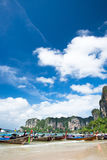 krabi railay Таиланд пляжа Стоковые Изображения
