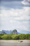 Krabi Rocks Royalty Free Stock Photography