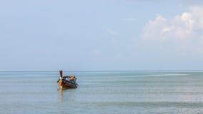 Krabi Tailandia - Krabi 20: Vista del mare della spiaggia in Krabi Tailandia 20/0 Immagini Stock Libere da Diritti
