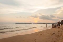 Krabi Tajlandia, Krabi 20 -: Plażowy denny widok w Krabi Tajlandia 20/0 Zdjęcia Stock