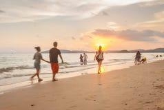 Krabi Tajlandia, Krabi 20 -: Plażowy denny widok w Krabi Tajlandia 20/0 Zdjęcia Royalty Free