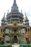 Krabi - tempel för havsorm Arkivbild