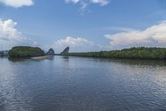 Krabi, Thailand Royalty-vrije Stock Afbeelding