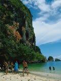 Krabi Thailand arkivfoto