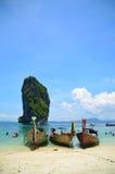 Krabi Thailand Fotografering för Bildbyråer