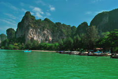 Krabi Thailand Beach Royalty Free Stock Images