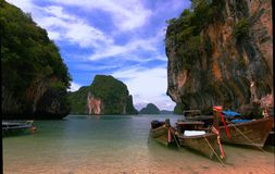 Krabi thailand island stock photos