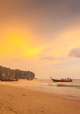 Krabi Thailand - Krabi 20: Strandhavssikt i Krabi Thailand 20/0 Royaltyfri Fotografi