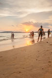 Krabi Thailand - Krabi 20: Strandseeansicht in Krabi Thailand 20/0 Lizenzfreie Stockfotos