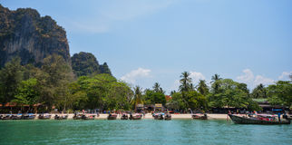Krabi, Thailand. Sea at Krabi, southern of Thailand Stock Photography