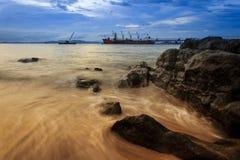 Krabi vaggar siktspunkt Fotografering för Bildbyråer