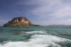 Krabi wyrzucać na brzeg, wycieczka południe Tajlandia Obraz Stock